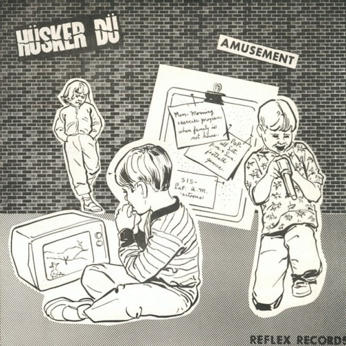 "Hüsker Dü 7"" reissue.  This is the first record to go on my Record Store Day 2013 want list.  (picture copied from Pitchfork)"