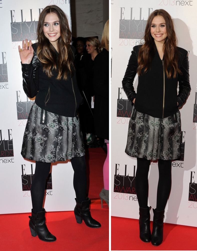 Elizabeth Olsen at the Elle Style Awards in London, February 11th