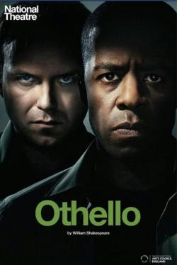 Promotional poster for Othello, at the National Theater, opening in April 2013.