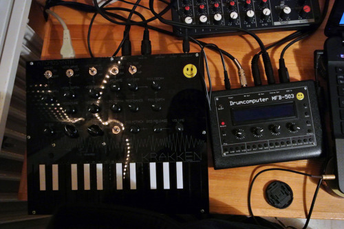 Love these!!! Atomosynth Krakken black edition :) , love Atomosynth in Peru! Thanks for the fast delivery and fun toy! Drumcomputer MFB - 503 :)