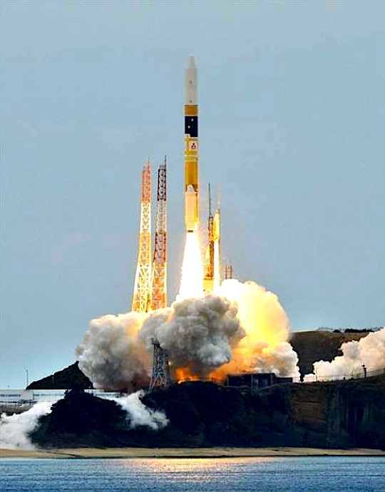 Japan Launches H2-A Rocket Loaded Spy Satellites, Amid Concerns About N. Korea's Missiles Radar and optical trackers go into orbit; program underscores Tokyo's wariness TOKYO — Japan launched two intelligence satellites into orbit on Sunday amid growing concerns that North Korea is planning to test more rockets of its own and possibly conduct a nuclear test. Officials say the launch Sunday of the domestically produced H2-A rocket went smoothly, and the satellites — an operational radar satellite and an experimental optical probe — appear to have reached orbit. Japan began its intelligence satellite program after North Korea fired a long-range missile over Japan's main island in 1998. North Korea conducted a launch last month that it says carried a satellite into orbit but has been condemned by the United States and others as a cover for its development of missile technology. Read in full report on NBCnews.com