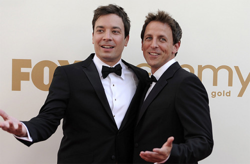 laughingsquid:  Seth Meyers Confirmed to Succeed Jimmy Fallon on NBC's 'Late Night'  Yes