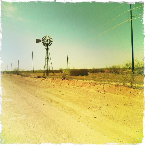 texas-tumbleweed:  South Odessa, TX.  DRR lease.  April 2012.