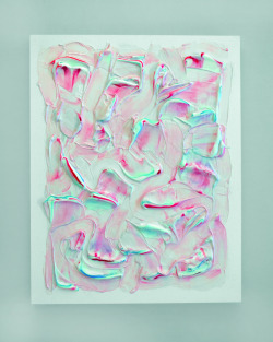 hifas:  Jesse Stecklow  Untitled (Aquafresh I), 2012 Tumblr