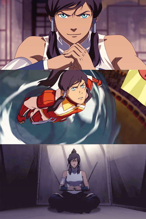 {12 favourite characters of 2012} Korra, The Legend of Korra  The morning is evil.