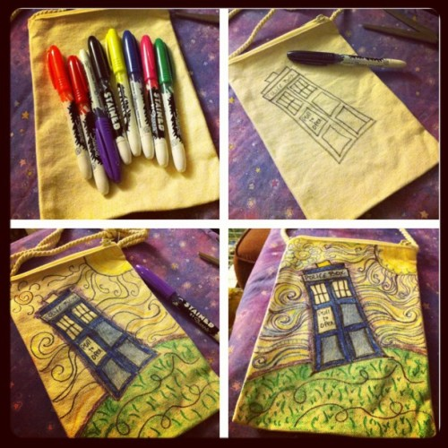 Can't decide if I'm done not or yet… #doctorwho #tardis