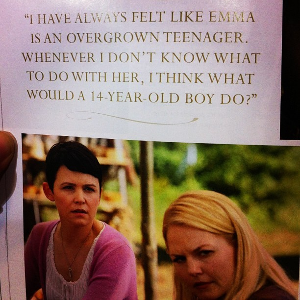 This explains so much about Emma's character! #emmaswan #emma #ouat #onceuponatime #oncer #teenager