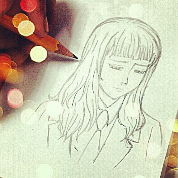 Feeling inspired :) Yuna from #noblesse #drawing #draw #instagram #sketch #pencil #art #artwork #igersmanila #igers #anime #manga #blog #photooftheday #picoftheday #popular #diary (at www.misskatv.com)