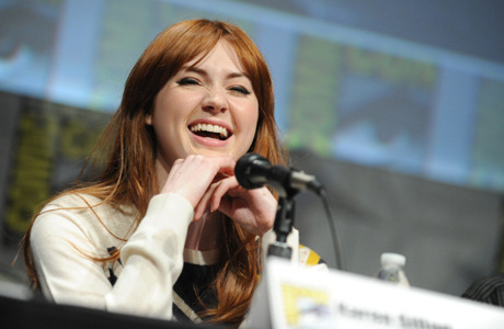 'Doctor Who' Alum Karen Gillan Joins Adult Swim's 'NTSF:SD:SUV::' | Anglophenia  Karen Gillan continues to add credits to her post-Amy Pond career. The formerDoctor Who companion has joined the cast of Adult Swim's live-action terrorism drama spoof NTSF:SD:SUV:: as Daisy, a Quartermaster-like tech expert,Deadline reports. The series has begun filming its third season in Los Angeles and London, which is set to return in July.