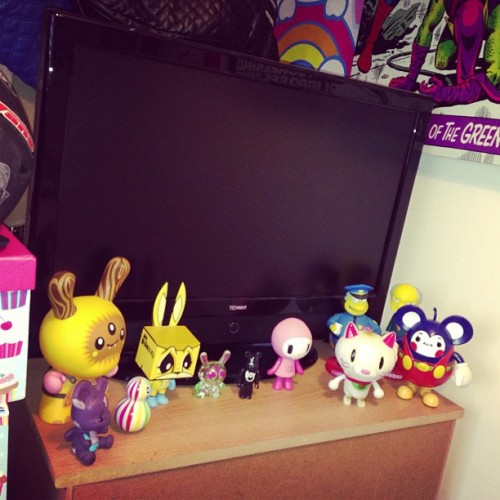 Finally got some of my mates out from storage. #kidrobot #vinylfigures #vinyltoys @longclothing