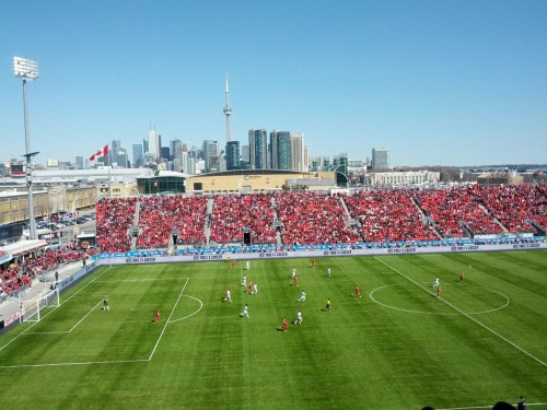 March footy: Toronto FC v LA Galaxy