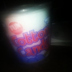 #late #night #snack #cottoncandy #candy #badidea #amazing #taste 👍💋💚