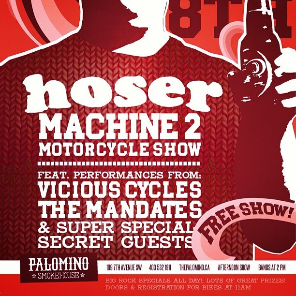 June 8th, motorbikes and rock and roll all afternoon @motorcychomagazine  (at The Palomino Smokehouse)