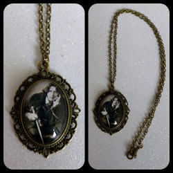 Oscar Wilde Cameo Necklace https://www.etsy.com/shop/CalamityJayneDesigns