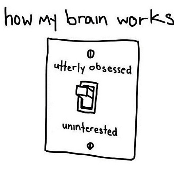 Yes! Sad but true. Currently uninterested. #brain #gemini #obsessed #uninterested #yaaasss