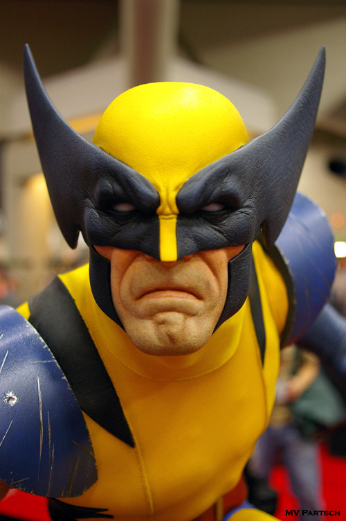 Logan. Comic-Con. San Diego. 2011. Sideshow Collectibles Pavilion.