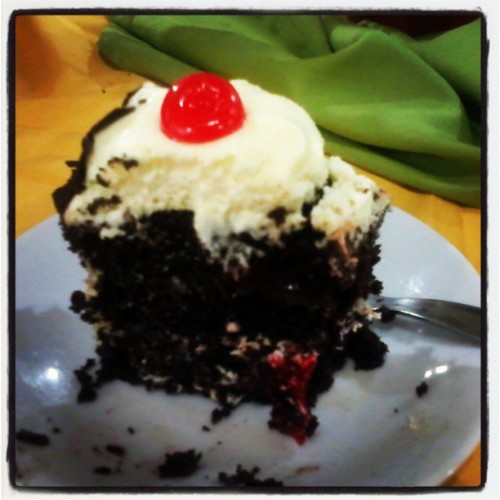 Sucker for Black Forest #food #foodporn #cakes (at KM 16 Aguinaldo Highway, Bacoor, Cavite)