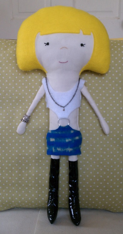 I rag doll I made of Vivian from Pretty Woman