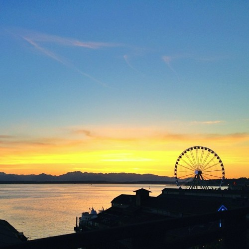 I don't ever get tired of this. #seattle