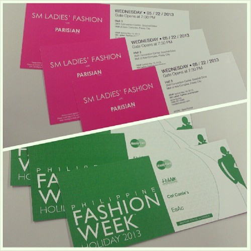 #fashionweekphilipines #ladiesfashion #invites @mspiso @masmendoza