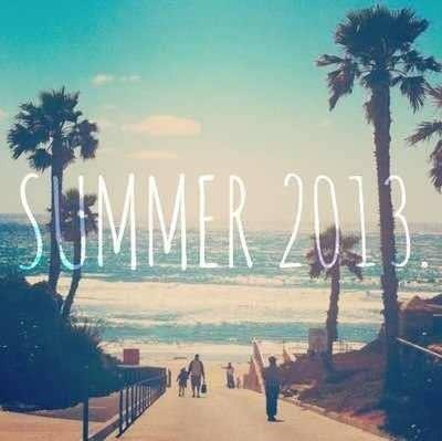 Summer is almost over. :( See you next year Summer. #SUMMER14