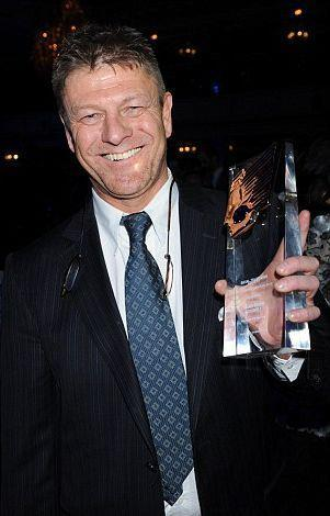 WINNER!!!! Sean at the Royal Television Society Awards, picture thanks to Beany and The Mighty Bean http://www.themightybean.com!