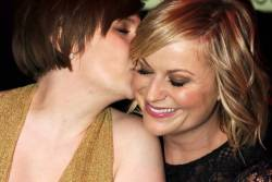 Lena Dunham and Amy Poehler: Two of my favorite ladies hconover:  How great is this picture? Lena Dunham & Amy Poehler at the Time 100 Gala.