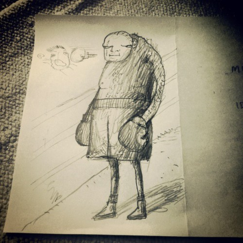 The boxer #zine #drawing #today #pencil #sunday #webstagram