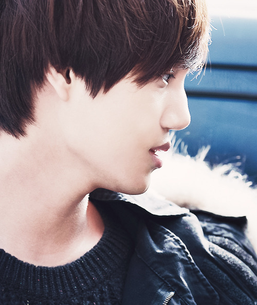 kim jongin's side profile appreciation (x)