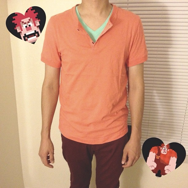 kittenstarrr:  Rick's Wreck-It Ralph #Disneybound outfit! ♡