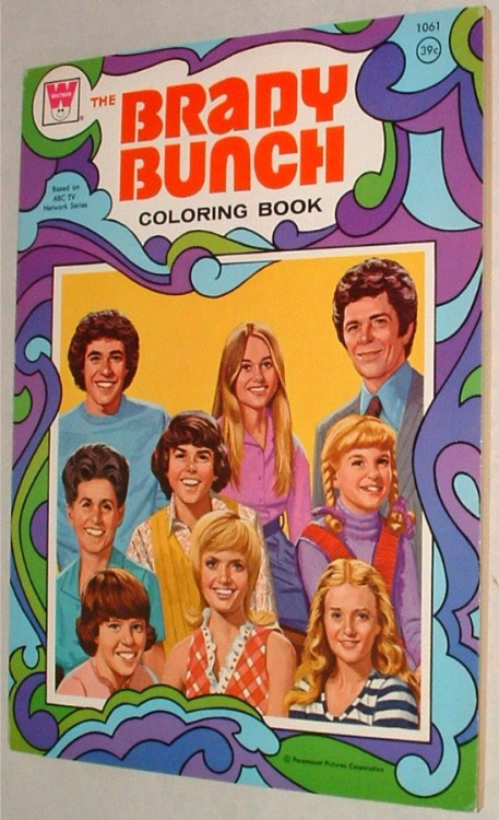 vintagetoyarchive:  WHITMAN: 1973 The Brady Bunch Coloring Book