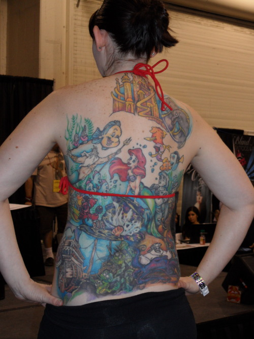 Under the sea. Body Art Expo, Pomona, CA, January 2013.