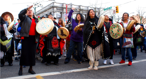 nativeamericannews:  Native Women's Association of Canada and Canadian Feminist Alliance For International Action Respond to Oppal by Calling for a National Public Inquiry and a Framework for Action to End Violence The Native Women's Association of Canada (NWAC) and the Canadian Feminist Alliance for International Action (FAFIA) responded to the final report of the Missing Women Commission of Inquiry by renewing their call for a national public inquiry into the hundreds of murders and disappearances of Aboriginal women and girls.