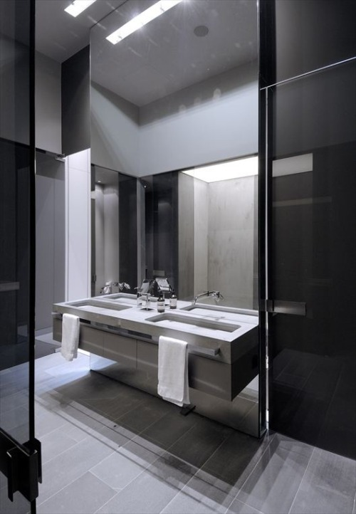 justthedesign:  Modern Bathroom Design By A-cero