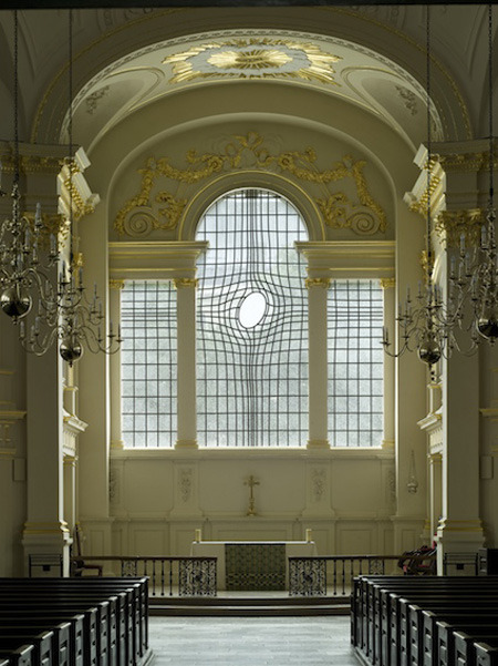 shupface:  East Window - Shirazeh Houshiary
