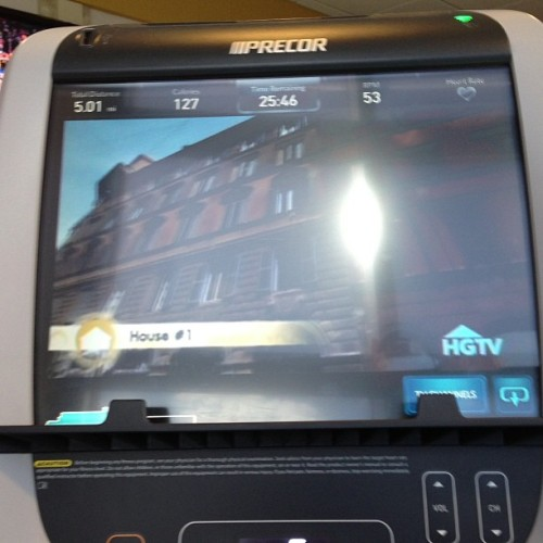 The greatest part about the gym is obviously easy access to house hunters.