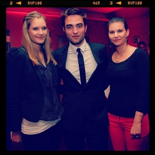 New/Old FanPic of Rob at the Berlin Cosmopolis Premiere Source: Instagram / sabrinamameroView Post
