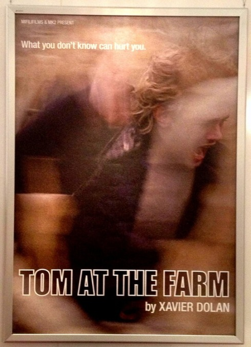 "bbook:   Adapted from Michael-Marc Bouchard's Tom a la Ferme, Tom at the Farm is a psychological thriller where… Stockholm Syndrome, mourning and latent violence permeate a story of lies and imposters. A young ad executive travels to the country for a funeral and discovers that no one there knows his name or his relationship with the deceased.Set deep in the farmlands of Quebec, TOM AT THE FARM tells of the growing fissure separating city and country and the respective natures of the men that reside there. Source (this is from last month, but come on, it's basically new information!)  ""A psychological thriller that is worrying and scary–I hope."""