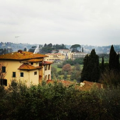 Walk through Florentine mountain in the Tuscan Region (at Florance)