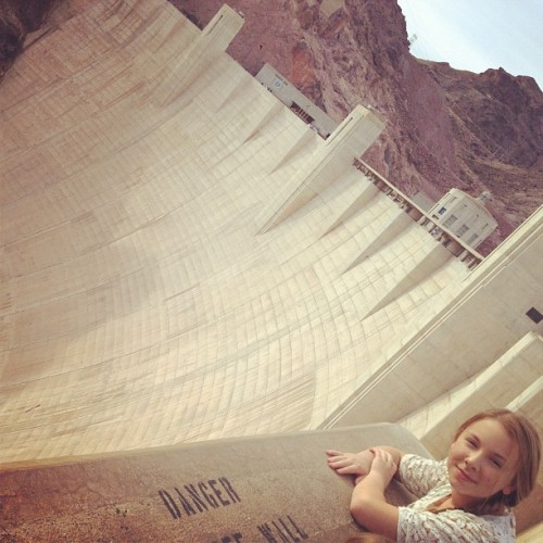Hoover Dam today! Pretty awesome! Heard lots of jokes about dams :))