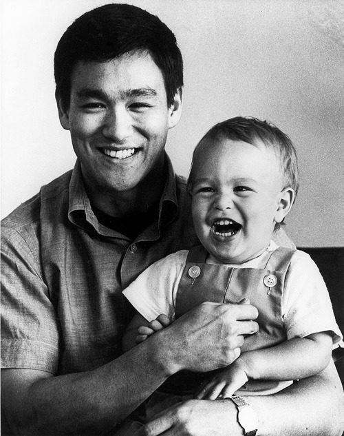 trapula:  22nd-of-october:  cruelfortune:  'Bruce Lee and his son Brandon'  R.I.P. to both of them.  :'(