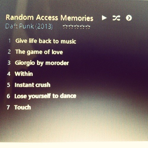 Lose Yourself To Dance #Randomaccessmemories #DaftPunk #NileRogers