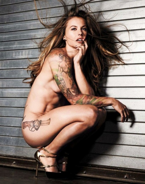 "Meet Christmas Abbott. Total hottie and total bad ass! Abbott does most jobs no ordinary 5'3"" 115 lbs brunette will do. Christmas has just signed on to work NASCAR pit crews and will be working the Daytona 500 for Clint Bowyer's crew. She will also work in the Camping World Truck series… If there is any doubt to her abilities, Christmas has already served in Iraq for the U.S. military and can squat 255 lbs… Oh, and click the pic for MORE PHOTOS!"