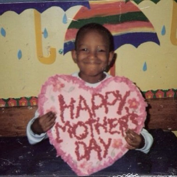 She still reminds me every year of when I made this Happy Mother's Day.