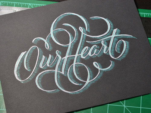 typeverything:  Our Heart by Ryan Hamrick