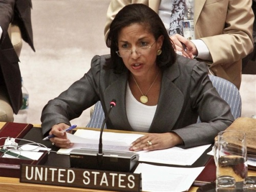 EXCLUSIVE: Susan Rice drops out of running for secretary of state; saddened by partisan politics (Photo: Bebeto Matthews / AP) Embattled U.N. envoy Susan Rice is dropping out of the running to be the next secretary of state after months of criticism over her Benghazi comments, she told NBC News on Thursday. Read the complete story. Exclusive interview with Rice Thursday at 10pm ET on Rock Center with Brian Williams.