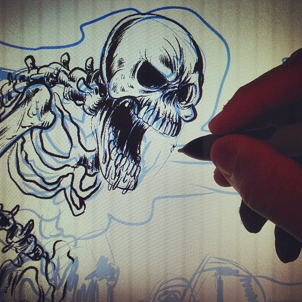 Digital Inking  (at Thunderdome)