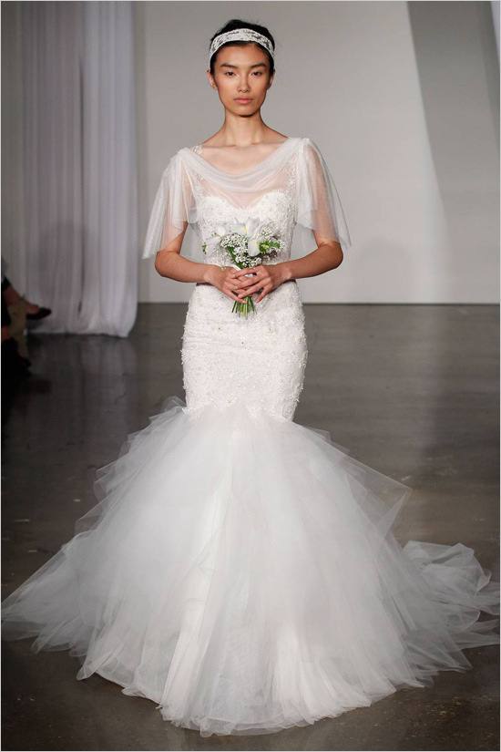 fuckyeahweddingideas:  Marchesa Fall 2013 Bridal Collection