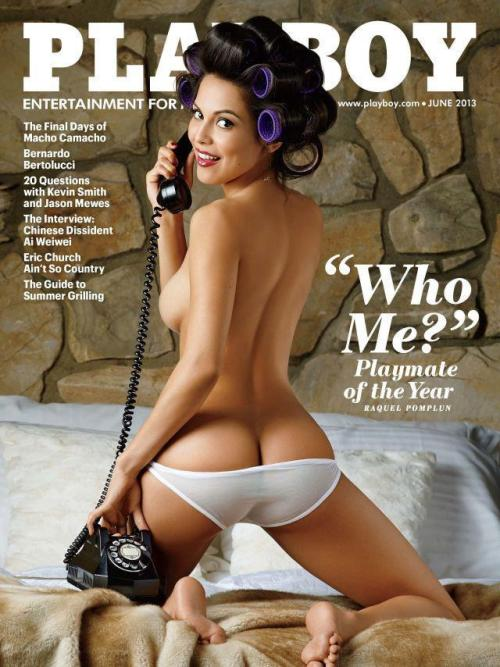 dayandadream:  RAQUEL POMPLUN, PLAYMATE OF THE YEAR