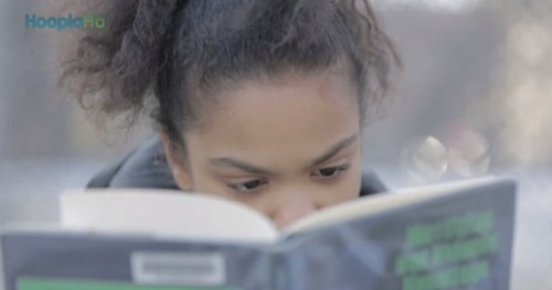 NEVEAH MOSHE READS EVERYONE UNDER THE TABLEby Parry Ernsberger http://bit.ly/128fRfR